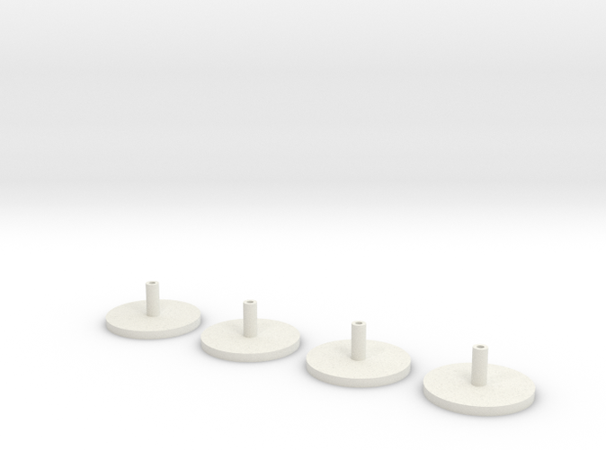 1/350 Scale HMS Hood Turrets Trumpeter Adapter