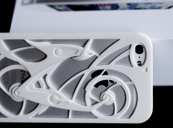 Innovative Bicycle iPhone5/5s Case in white