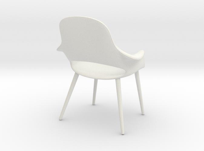 1:12 - Organic Chair - Charles Eames & Eero saarinen
