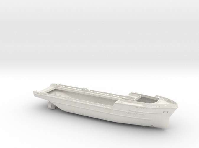 basic render of the hull