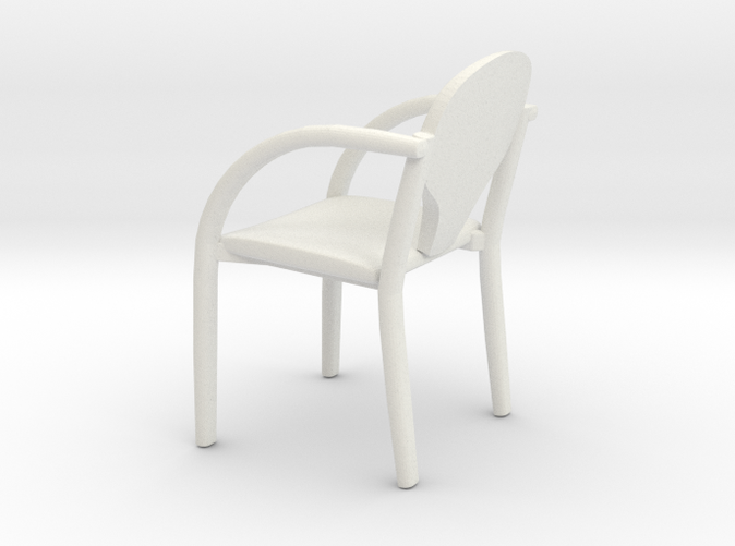 Office chair in 1:24 scale