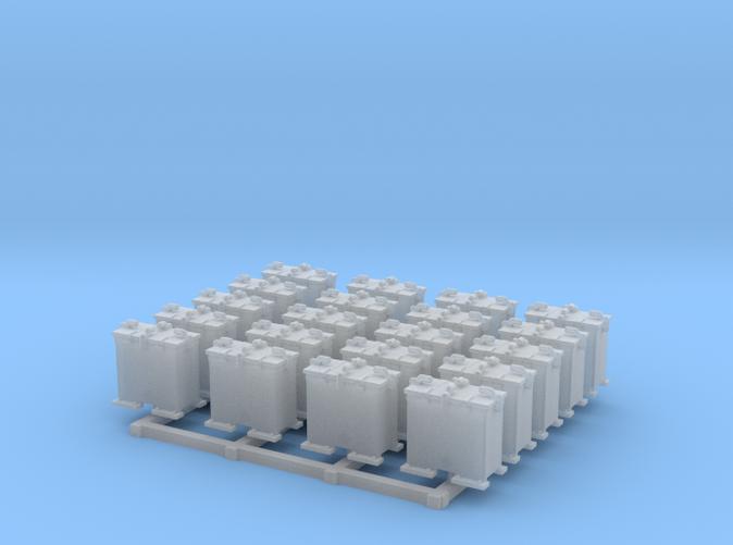 1/144 Scale 20mm Oerlikon Ready Use Lockers x20