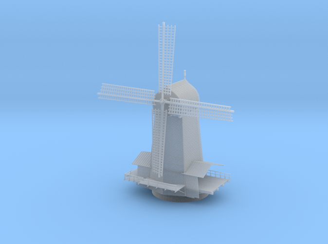 Wind Mill Z scale