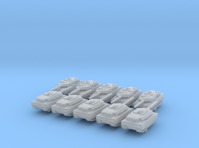 1/700 Scale German Modern Tank Set 1
