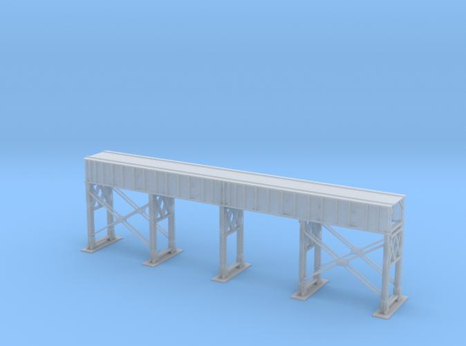 Single Track Bridge Steel Z scale