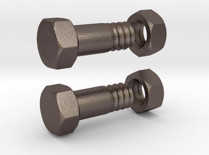 Flesh tunnel bolt 4mm - Steel