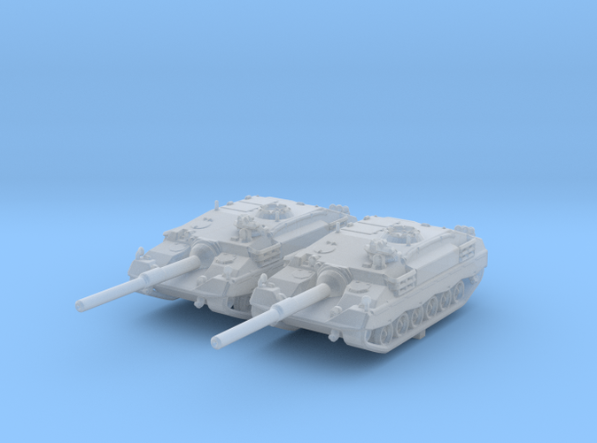 1/285 Swiss Taifun (Typhoon) II Tank Destroyer x2