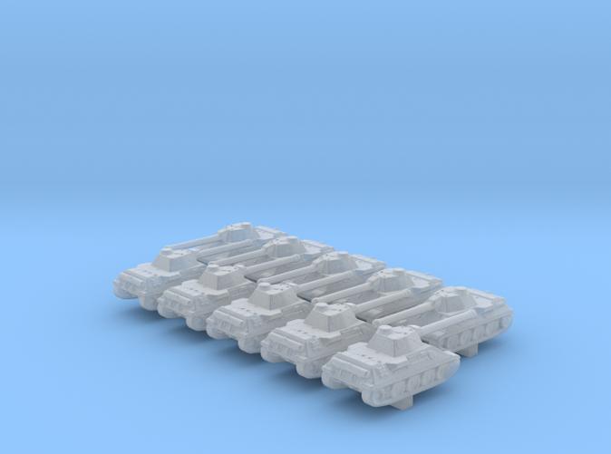 1/700 German VK 30.02 (D) Medium Tank x10