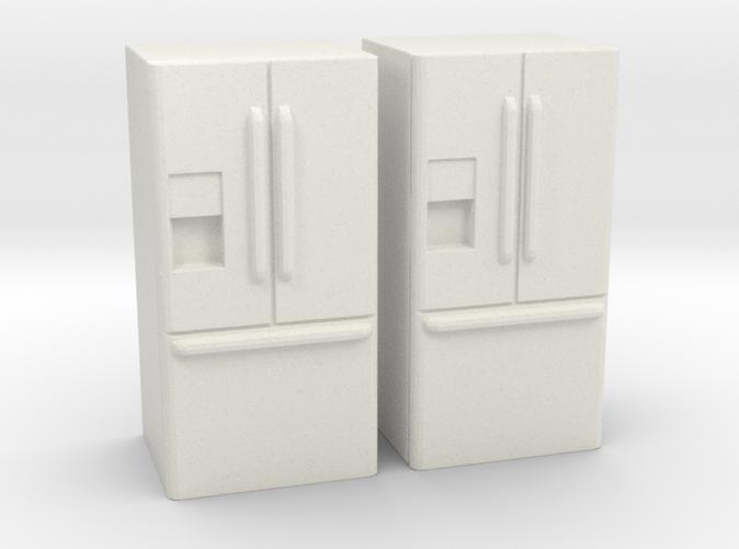 3 Door French Door Refrigerator 1 87 Ho Scale R42lmgqlt