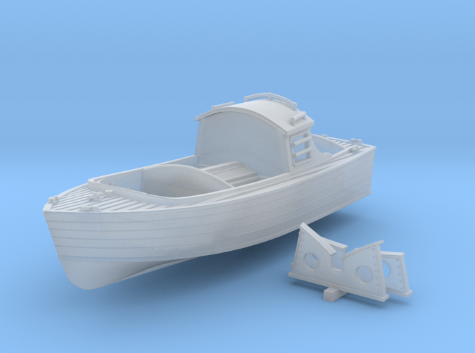 "1/72 Royal Navy 16ft Fast Motor Boat ""Skimming Dish"""