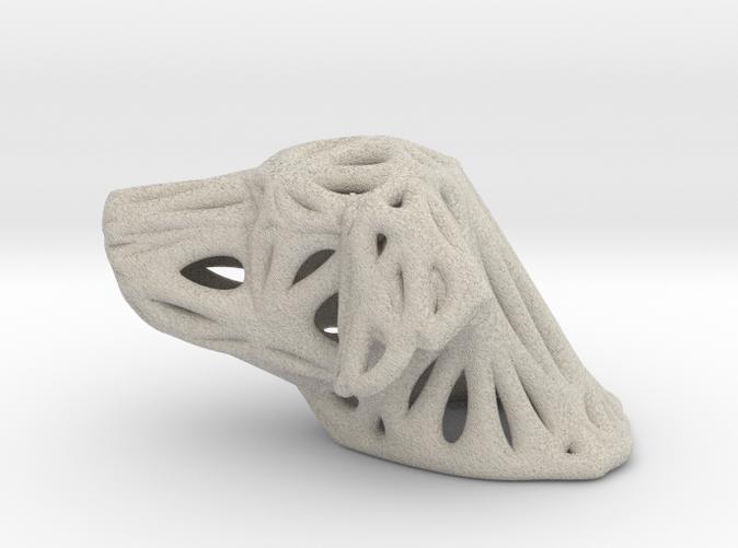 Sandstone Voronoi Dog by Good54