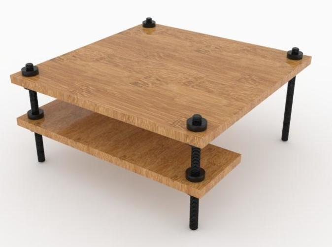 One example: a table