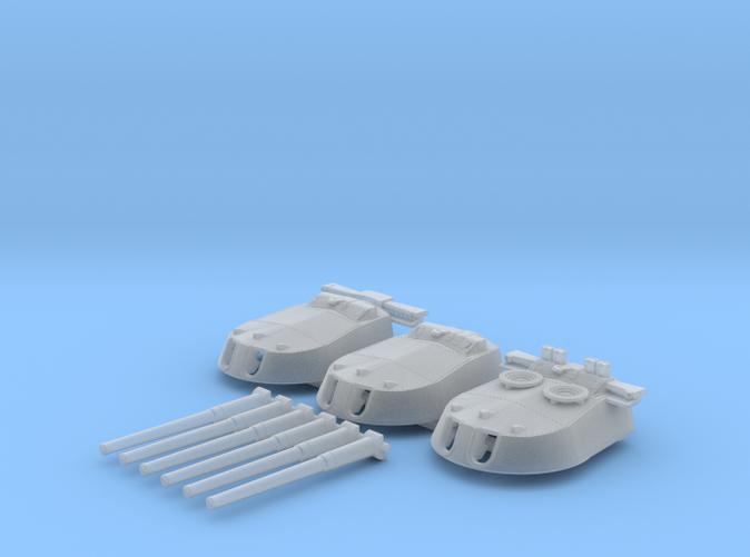 1/700 MKI* HMS Repulse Guns 1941