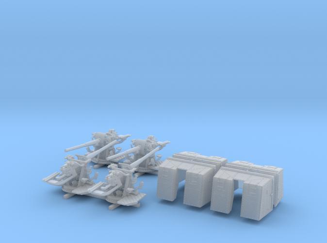 "1/200 4.7""/45 QF MK IX CPXVII Guns Ports Closed x4"