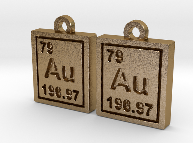Gold periodic table earrings apzmzmssm by ultimategeek gold periodic table earrings urtaz Gallery