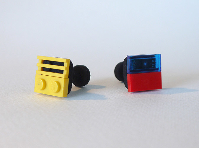 Black Strong & Flexible (Lego pieces not included)