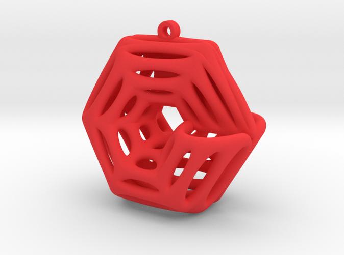 Voronoi Klein Earring (005)