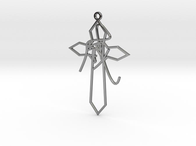 Personalised Astrological Eastern Cross Earring