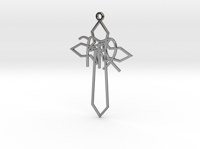 Personalised Astrological Cross Earring