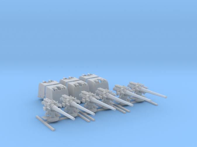 "1/192 6""/45 (15.2 cm) BL Mark XII D Class Cruisers x6"