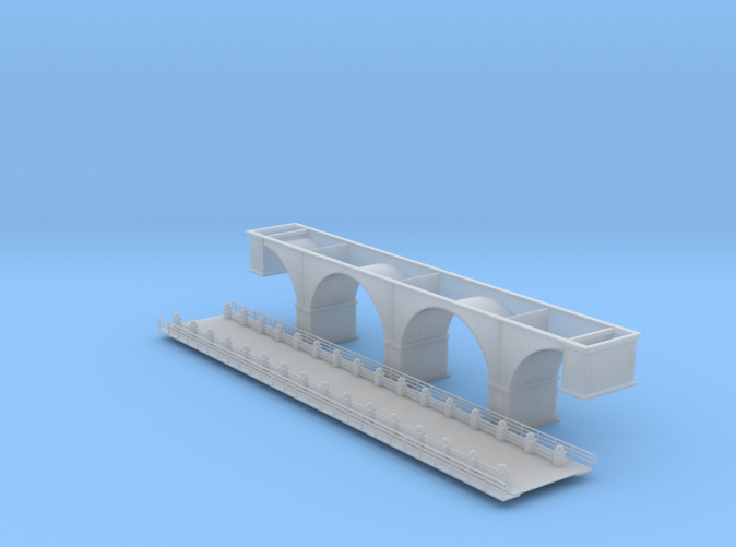 arch Bridge Z scale