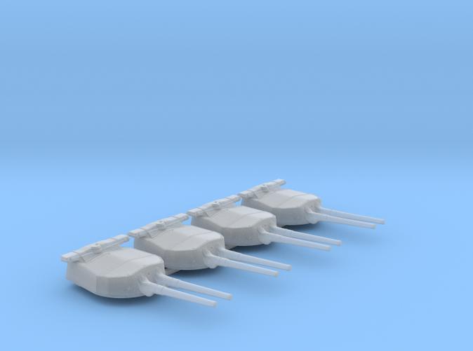 """1/600 HMS Hood 15"""" Mark II Turrets 1920 B. Bags"""