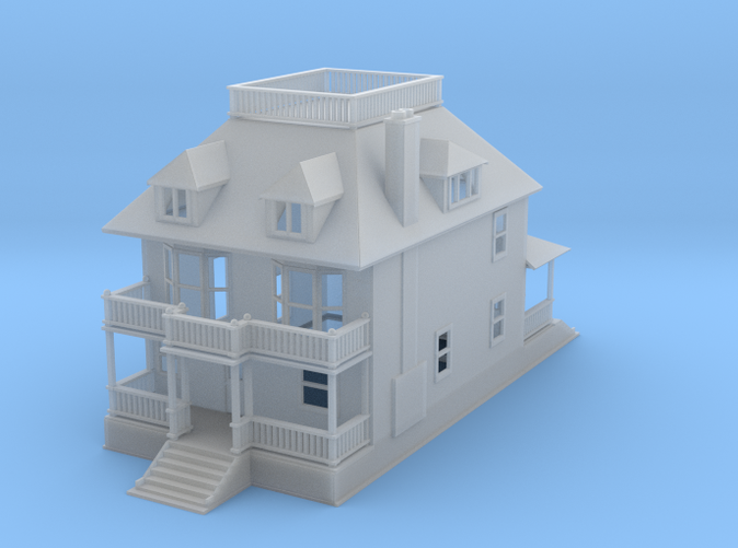 Barber House 1:285 Scale