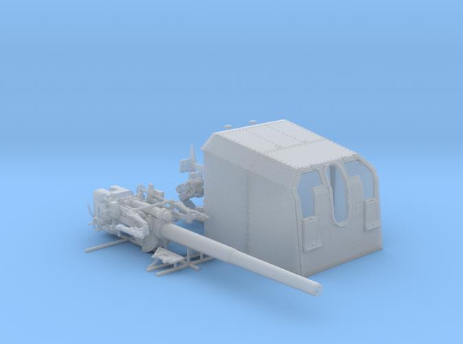 "1/72 DKM 12.7 cm/45 (5"") SK C/34 Gun x1"
