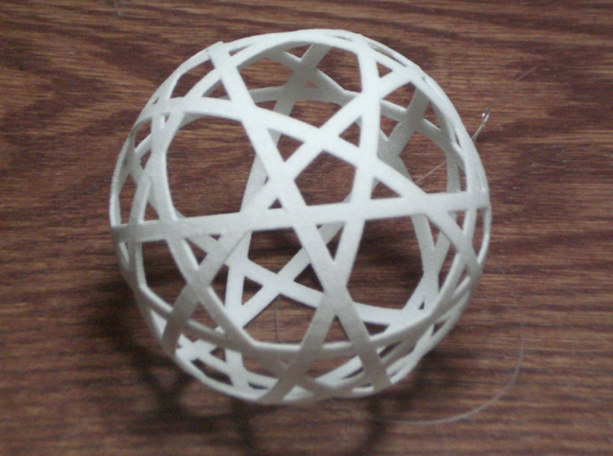 10 strip sphere