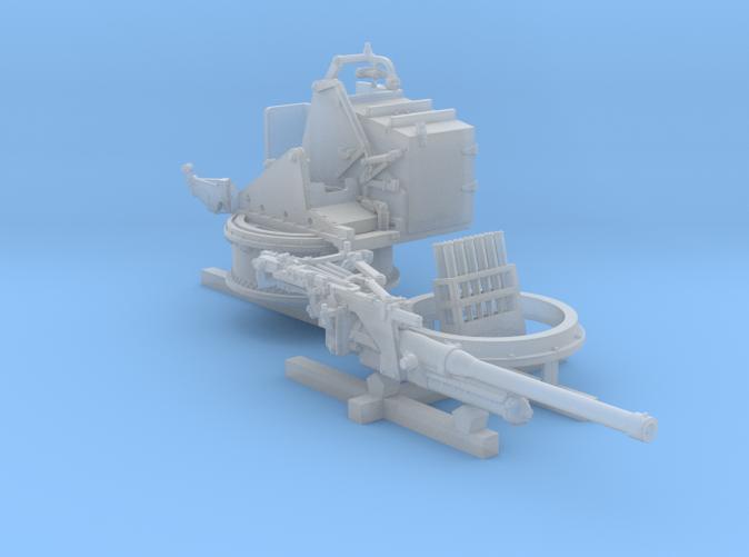 1/96 6-pdr (57mm)/7cwt QF MKIIA Aft (MTB)