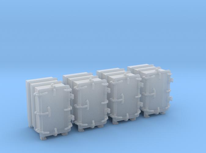 """1/35 Royal Navy 4.7"""" Ready Use Lockers (Small) x4"""