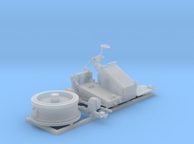 1/96 Twin 20mm Oerlikon MKV Mount Not in Use