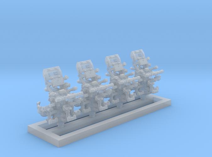 1/350 Royal Navy MKIV POM POM Directors x4