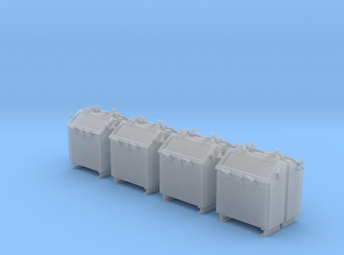 1/48 Royal Navy Quad Vickers Ready Use Lockers x8