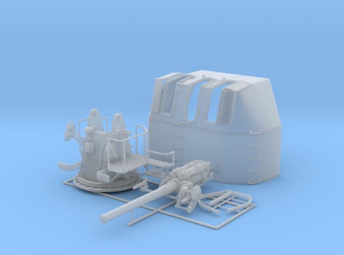 "1/56 RN 4"" MKV P Class Gun (B Mount) x1"