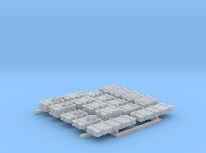 1/144 Scale Royal Navy Deck Hatch Set x18