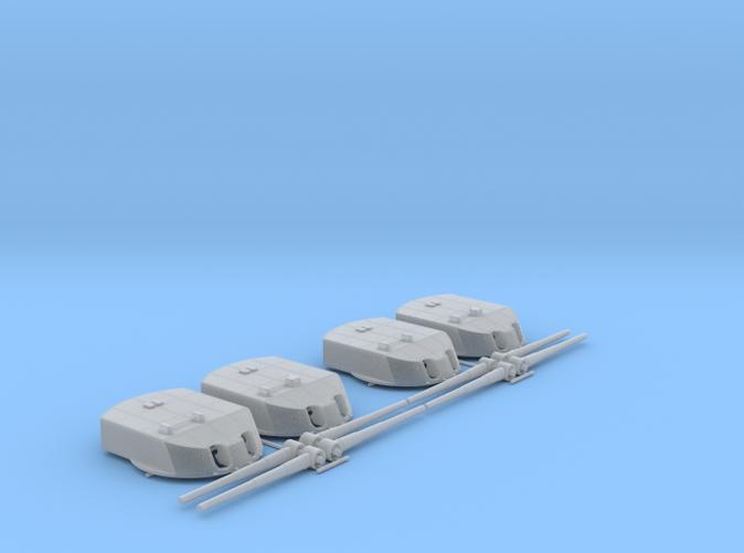 """1/150 Derfflinger Class 30.5cm (12"""") SK L/50 Guns x4"""