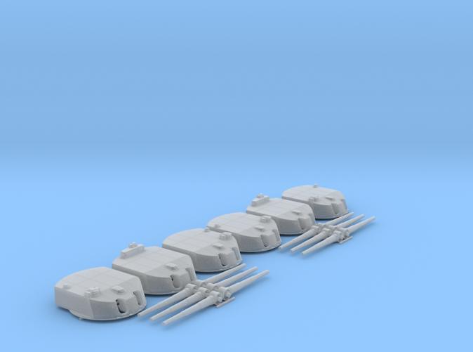 """1/150 SMS Nassau 28cm/45 (11"""") SK L/45 Guns x6"""