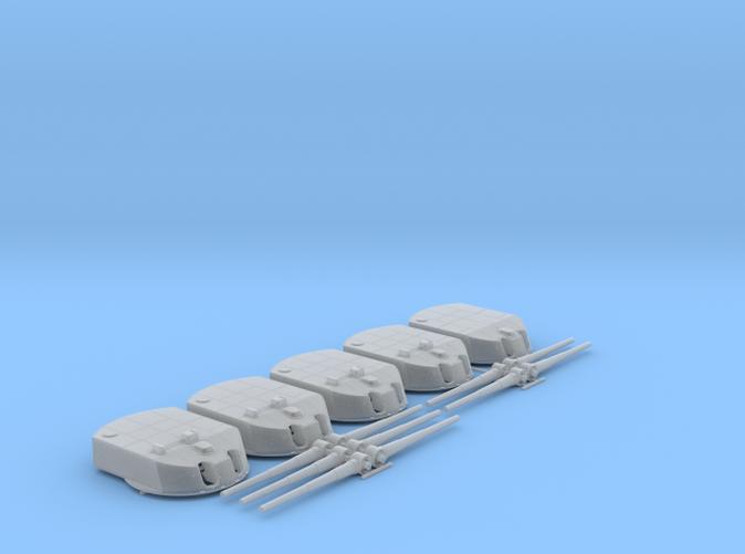 "1/150 Moltke Class 28cm/50 (11"") SK L/50 Guns x5"