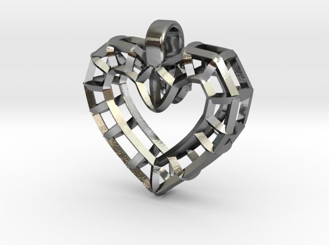 heart wire pendant2