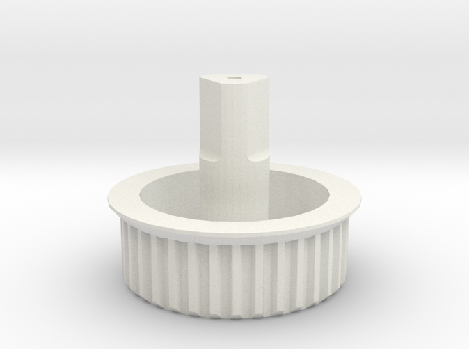 Gear in white nylon