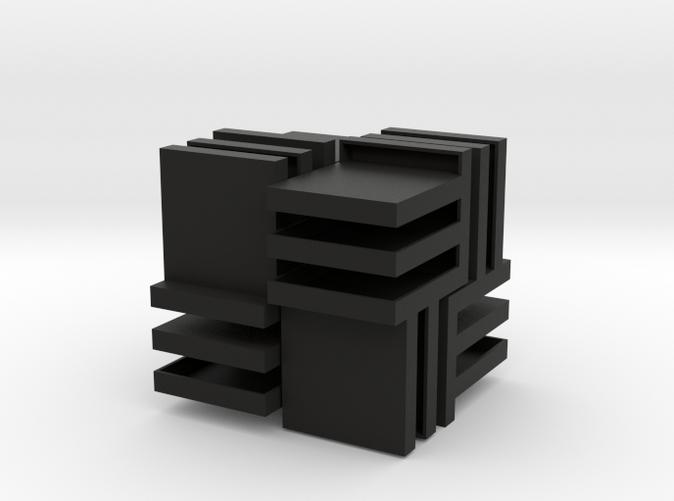 Cube Puzzle V-2, Negative