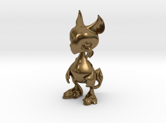 Raw Bronze Render