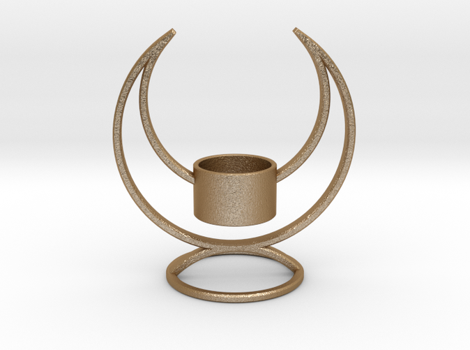 Solstice Candle Holder - Gorgeous in Gold Steel