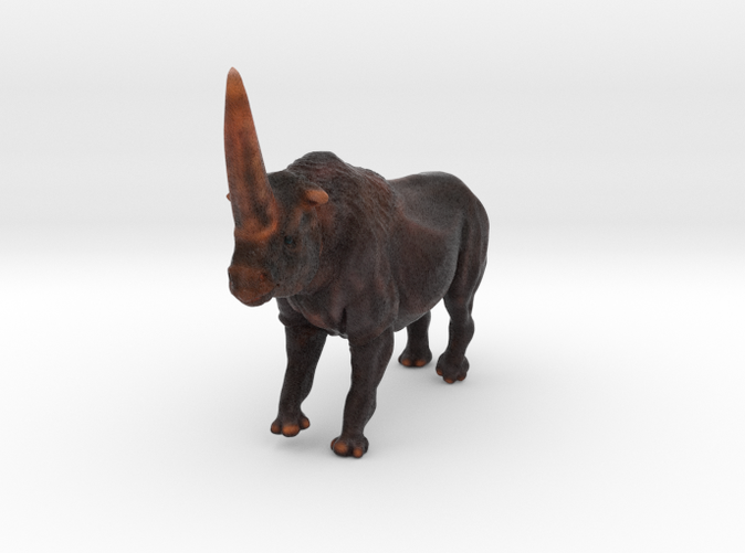 Elasmotherium animal toy by ©2012 RareBreed