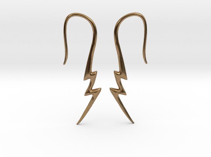 #tunnel #plug #piercing #tattoo #Lightning bolt # ...  |Lightning Bolt Gauges