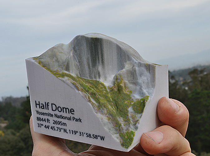 Hald Dome in the palm of your hand