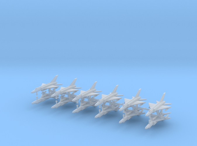 1/700 Shenyang J-8 Finback (x12)