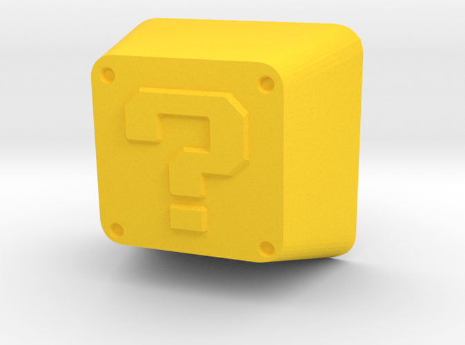 Custom Mario question block Keycap for Cherry MX switches