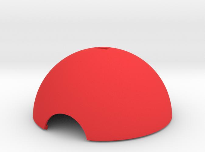 Pokeball bauble hemisphere section